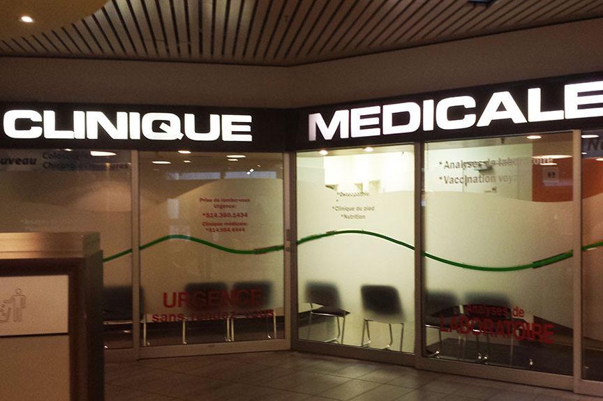 Clinique médicale, dentaire et pharmacies